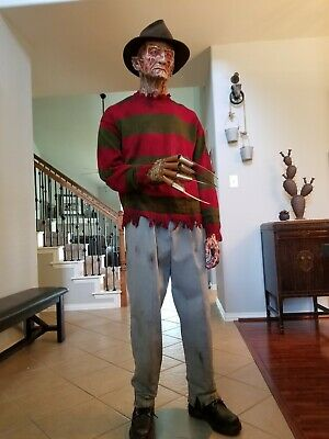 1:1 Nightmare On Elm Street LifeSize FREDDY KRUEGER Signed by Robert Englund