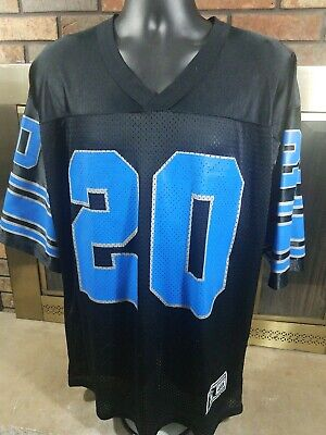 BARRY SANDERS LIONS Blue NFL Pro Line Vintage Jersey $12.50  for sale
