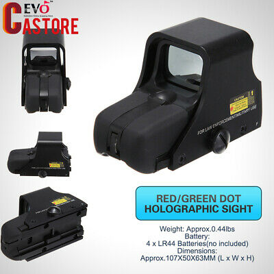 551 Red Green Dot Holographic Sight Tactical Airsoft Scope Sight Outdoor