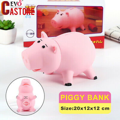 Toy Story Hamm Piggy Bank Coin Save Money Box Ham Figures Pig Kids Gift
