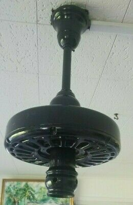 Antique 1920'S General Electric Ceiling Fan W Remote Albany Schenectady New York