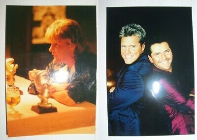2 Fotos Dieter Bohlen / Modern Talking / 80er + 90er / Alone / Blue System