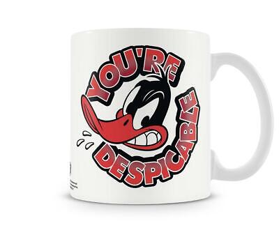 Looney Tunes Daffy Duck You're Despicable tazza de Caffè e scatola regalo novità