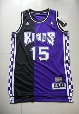 6d9b0409 DeMarcus Cousins Sacramento Kings 15 Black and Purple Swingman Size Small  Jersey