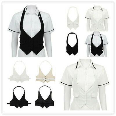 Women's Breathable Crop Tops Cotton Vest Fully Lined Waistcoat Tank Tops Blouse