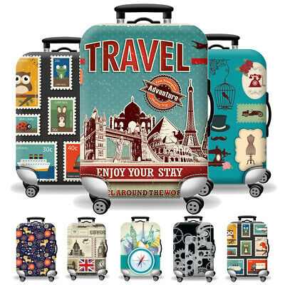 26-28 Inch Travel Elastic Luggage Suitcase Cover Bag Dustproof Protector