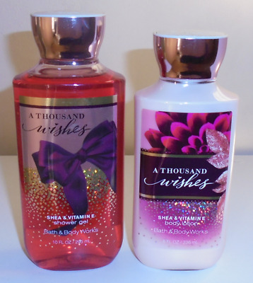Bath & Body Works A Thousand Wishes Body Care Set ~ Gorgeous Scent