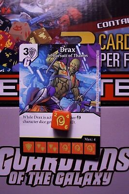 Dice Masters Guardians of the Galaxy - #089 Drax - RARE