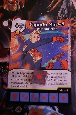 Dice Masters Guardians of the Galaxy - #085 Captain Marvel - RARE