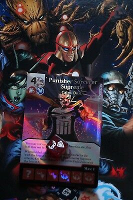 Dice Masters Guardians of the Galaxy - #124 Punisher Sorcerer - SUPER RARE FOIL