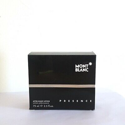 PRESENCE MONT BLANC For Men 75ml After Shave Lotion. New