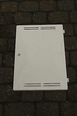 (PAIR) GAS & ELECTRIC Meter Box Door COMPLETE  with Key,Hinges,Latch