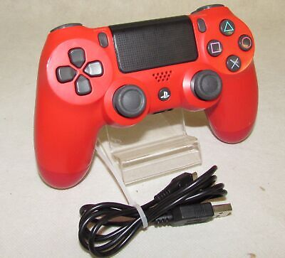GENUINE Sony PS4 Official DualShock 4 Controller V2 RED CUH-ZCT1E RF2760