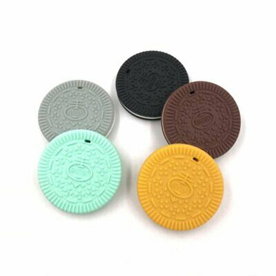 Oreo Teether Silicone Baby Teething Silicone Pendant Bpa Free Chewing Gum OK