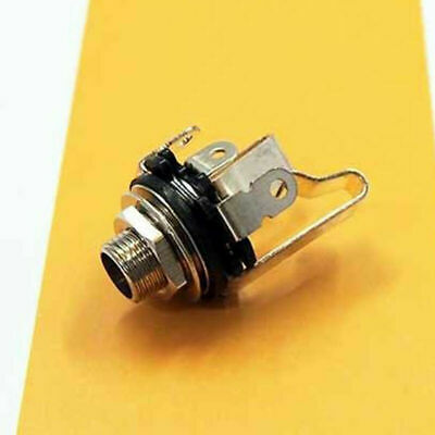 """1x Electric Guitar Socket Switchcraft 1/4"""" Input Output Jack Replacement Parts 2"""