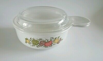 Vintage Corning Ware Spice Of Life Grap It With Lid P-150-B
