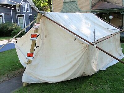 WALL TENT (BY Davis Tent & Awning) - $975 00 | PicClick