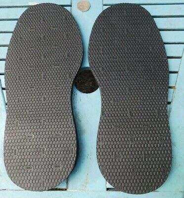 mens womens shoe repair rubber sole up to size 11 SVIG Zephir 44/46 size black