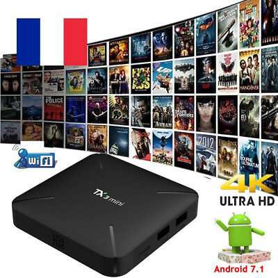 TX3 mini UHD 3D 4K S905W Quad Core Android 7.1 Smart TV BOX WiFi 1G 8G Medi U3❁