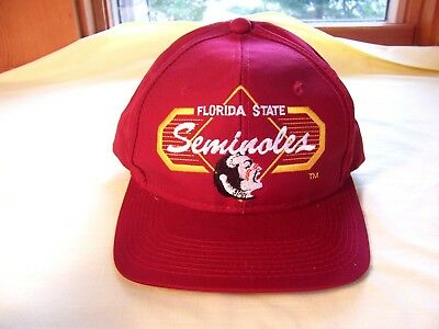 watch 99040 7ab0e Vintage Florida State Seminoles Hat NCAA