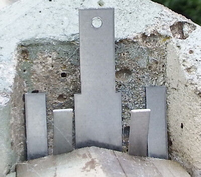 """10 x Fencing Rattling Fence Panel Wind Gale Blown Out Fit 100mm 4"""" Concrete Post"""