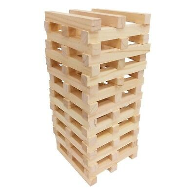 1.2m Giant Jenga Wooden Tumbling Tower Game Indoor Outdoor Garden Family Games