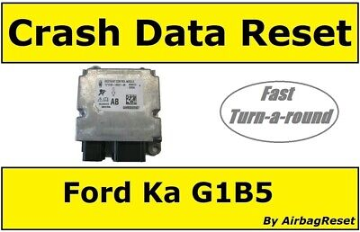 Crash Data Reset Service For Ford Ka & Fiesta Airbag Modules - G1B5 14B321 Ab