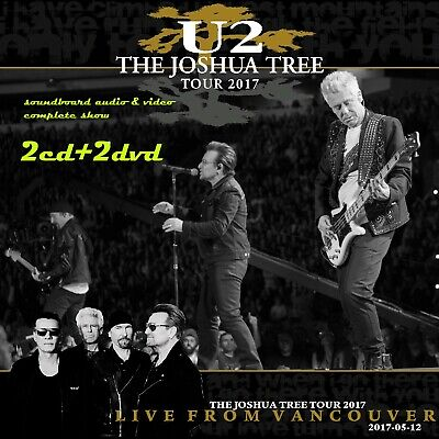 U2 THE JOSHUA TREE TOUR 2017 - LIVE FROM VANCOUVER May 12, 2017 2CD+2DVD