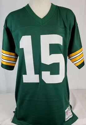 Hot BART STARR GREEN BAY PACKERS Mitchell Ness 1969 Throwback 50 YEARS  free shipping