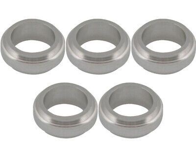 Go Kart Wheel Spacer 17 X 10mm x 5Pcs Silver Karting Race Racing