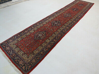 Beautiful Oriental cm 370x80 Persian Rug Runner Top Condition Fine