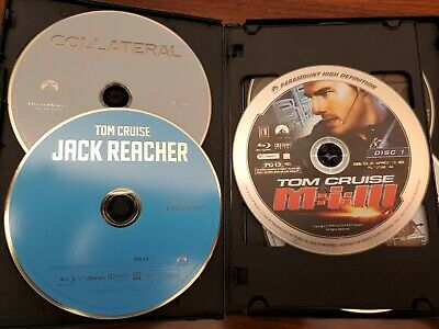 Tom Cruise/Mission Impossible+Bond 6-Movie Blu Ray Collection - See Description
