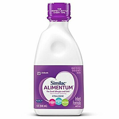 Similac Alimentum Hypoallergenic Formula with Iron, Ready to Feed, 32 oz