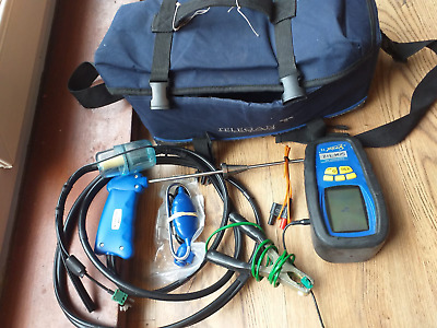 Anton Sprint V2 Flue Gas & Ambient Air Analyser Tester with accesories.
