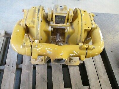 Used Ingersoll-Rand Diaphragm Pump Pda20A3 Yellow