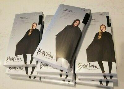 Betty Dain Whisper 8X STYLING CAPES #199S & 1X plus size #2213 - 9 CAPES TOTAL!