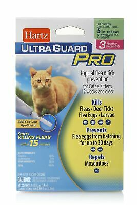 Hartz Topical Flea & Tick Prevention Cats and Kittens 5 lbs and over Pro Cat