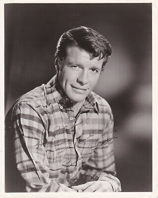 ROBERT HORTON SIGNED Autographed 8x10 Photo