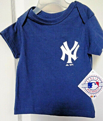 4dfd72320 Baby Infant T-Shirt - NY Yankees Official MLB Majestic - New with Tags -