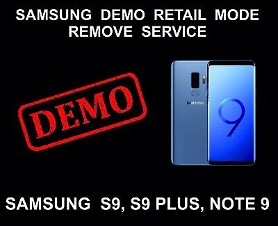 REMOVE RETAIL MODE/ Demo mode for Samsung S6/S7/S8/S9/Note 5