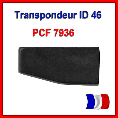 Transpondeur Vierge Id46 Peugeot Citroën PCF7936 PCF7936AS Puce ID46