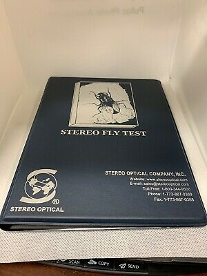 Original Stereo Fly Test Brand New