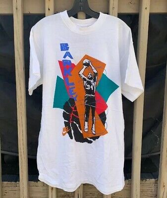 213f1715b Vintage Nike Basketball Charles Barkley Abstract Graphic T-Shirt (Size XL)