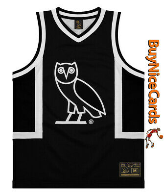 fcdd6cca4cf Drake's Octobers Very Own OVO Owl Black Basketball Jersey Size XXL Sold Out  NWT