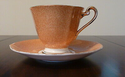 Roslyn Teacup and saucer with floral pattern