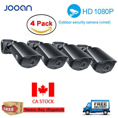 JOOAN 2X/4X HD 1080P DVR Outdoor Bullet Security Camera Home CCTV Night Vision