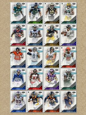 2019 TIER ONE WAVE 3 SILVER BASE SET OF 20 CARDS MORIOTA+++Topps Huddle Digital