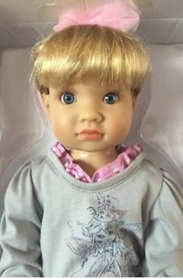 """Alyssa 18"""" Vinyl Jointed Doll by Kidz 'n' Cats.NEW IN BOX.GREAT PRESENT."""