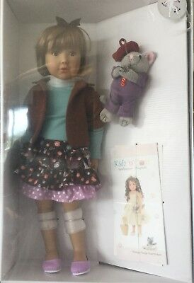 """Jodie 18"""" Vinyl Jointed Doll by Kidz 'n' Cats.NEW IN BOX.GREAT PRESENT.COLLECTOR"""