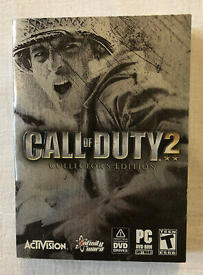 CALL OF DUTY 2 COLLECTOR'S EDITION PC DVD-ROM Activision - New